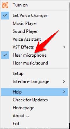 Phần mềm thay đổi giọng nói thành em bé với Clownfish Voice Changer