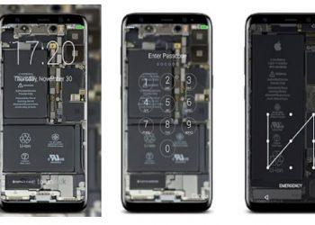 Cách làm hình nền Linh kiện bên trong Điện thoại đẹp mắt 1