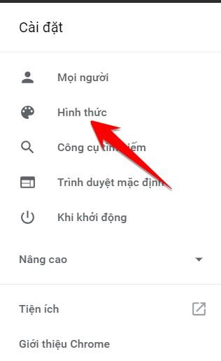 Cách thay đổi Theme cho trình duyệt Chrome