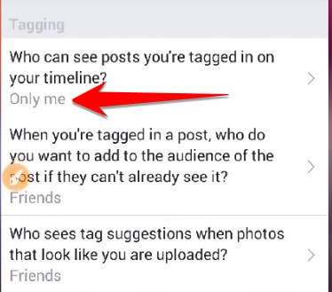 Who can see posts you're tagged in on your timeline?
