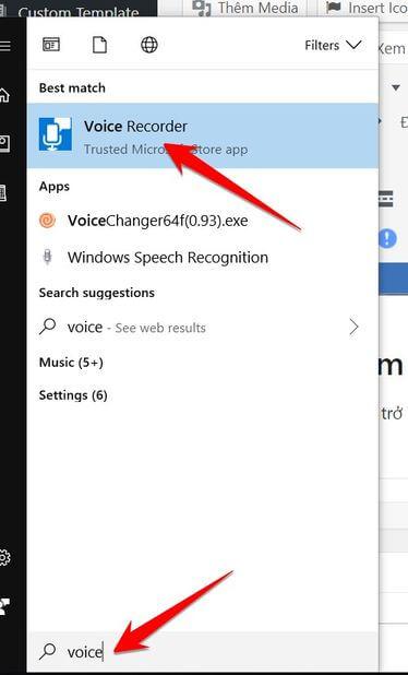 voice recoder windows