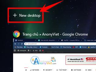 Tạo Desktop mới