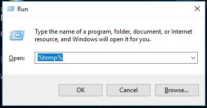 mở temp