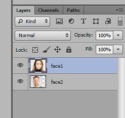 Ghép mặt người này vào mặt người khác trong Photoshop 16
