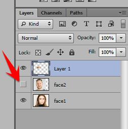 Ghép mặt người này vào mặt người khác trong Photoshop 20