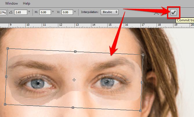 Ghép mặt người này vào mặt người khác trong Photoshop 22