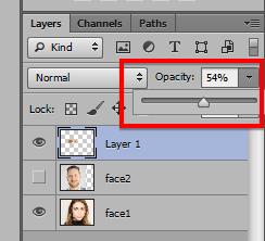Ghép mặt người này vào mặt người khác trong Photoshop 21
