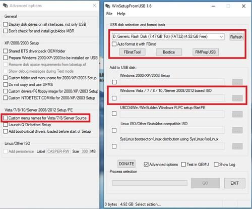Cách Tạo USB cài Windows bằngWinSetupFromUSB