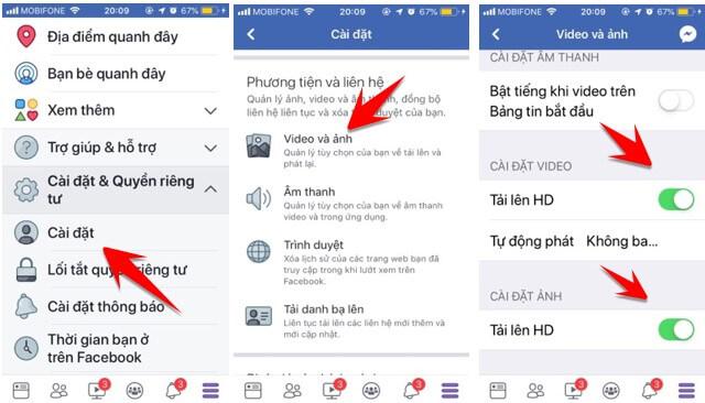 Đăng ảnh và video chất lượng HD bằng điện thoại Iphone