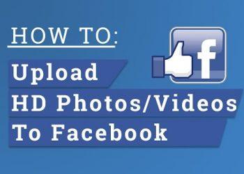 Cách đăng Hình và Video lên Facebook không bị mờ giảm chất lượng 1