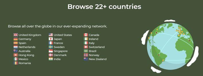 Danh sách các Server VPN của TunnelBear