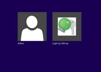 login by windows by usb