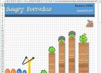 Cách chơi game Angry birds ẩn trong Excel bằng cách mở trứng phục sinh 7
