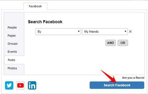 Tìm kiếm thông tin bằng Facebook Graph Search