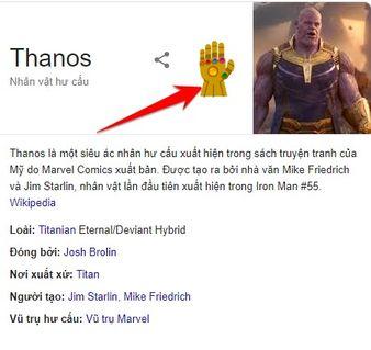 Thanos đã Hack Google chỉ với một nắm đấm