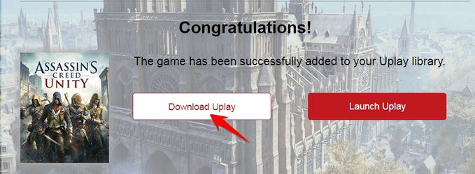 download uplay để chơi Assassin's Creed Unity miễn phí