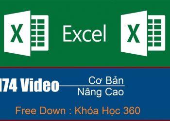 Share khóa học Excel tiếng Việt dành cho mọi lứa tuổi 2