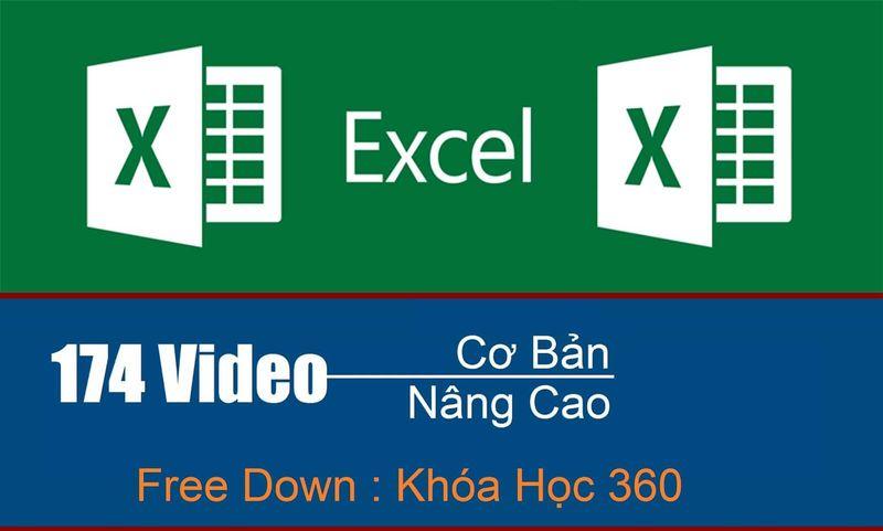 khóa học Excel tiếng Việt