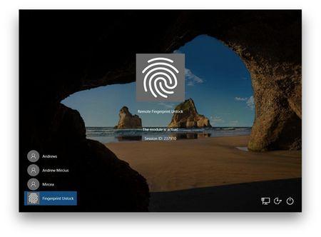 Cách mở khóa Windows bằng vân tay trên điện thoại Android 4