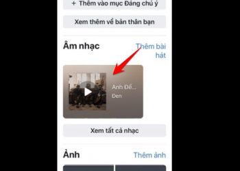 Cách thêm bài hát yêu thích vào trang cá nhân Facebook trên điện thoại 1
