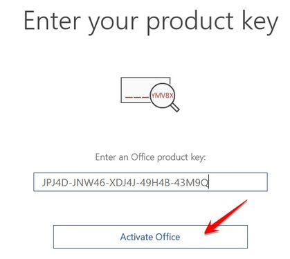 Download Office 2019 Volume bản quyền bằng Key