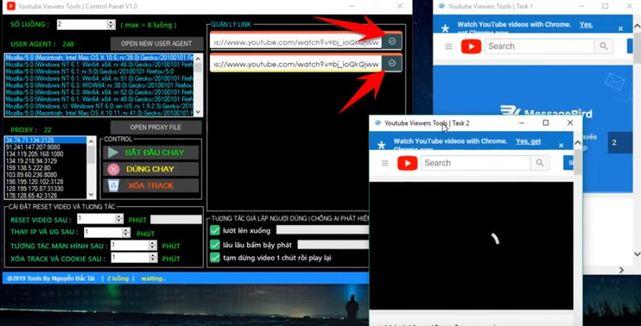 Cách sử dụng YouTube Viewers Tools