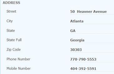 điền thông tin địa chỉ