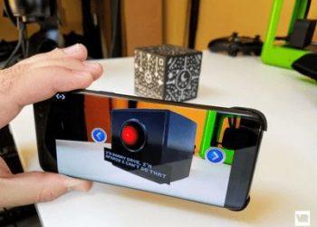 Tự chế khối lập phương Merge Cube dùng cho thực tế ảo AR