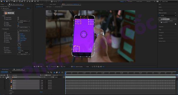 Các tính năng của Adobe After Effects 2019