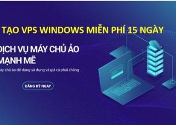 Nhận 100k đăng ký VPS Windows sử dụng 15 ngày với KDATA.VN 2