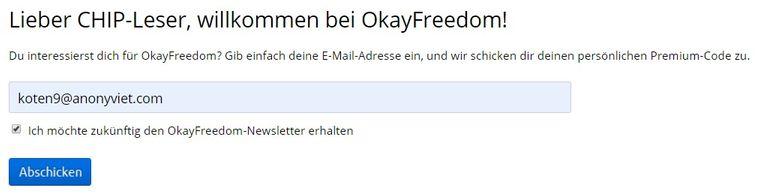 Nhận Key OkayFreedom VPN Premium