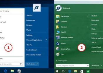 Download START10 1.80 Full - Cài nút Start cho Windows 10 giống Windows 7 2