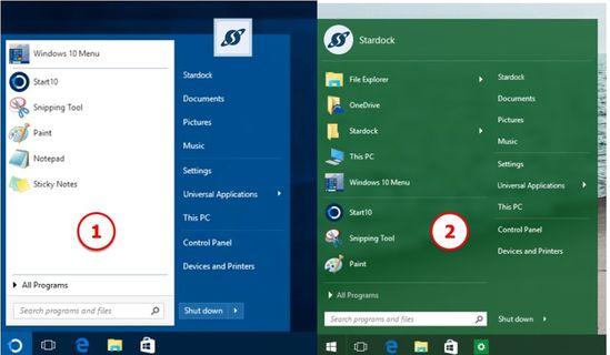 Download START10 Full - Cài nút Start cho Windows 10 giống Windows 7