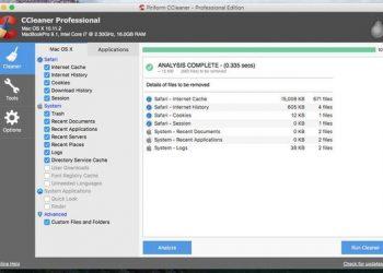 CCleaner For MAC 1.16 Full Key- Phần mềm dọn rác cho MAC OS 1