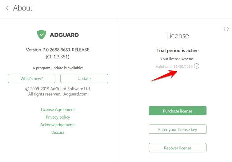 Cách nhận Key AdGuard 6 tháng miễn phí