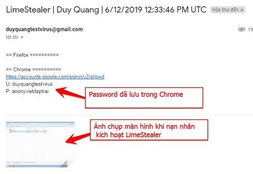 Log Email LimeStealer v.01