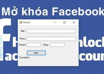 Share Tool Spam Unlock Mạo danh Facebook hổ trợ reset IP 1