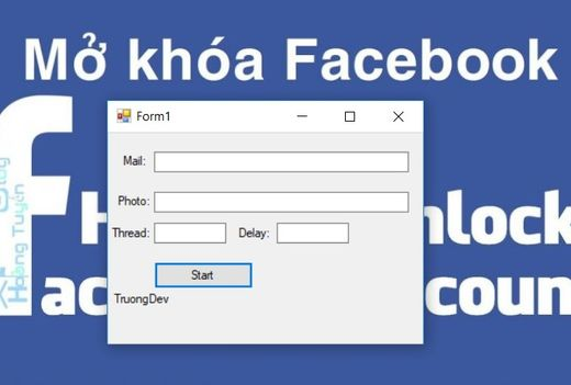 Download Tool Spam Unlock Mạo danh Facebook