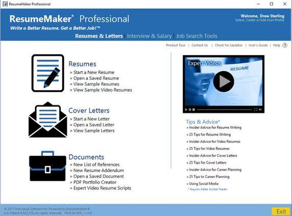 Download ResumeMaker Professional Full Key