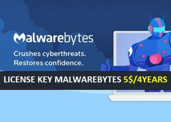 Malwarebytes 4 YEARS 5USD