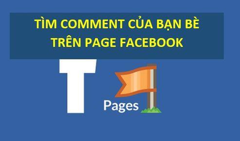 Code tìm Comment của một người trên Page bất kỳ