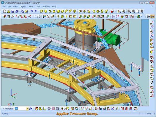 Download VARICAD 2019 Full- Phần mềm thiết kế 2D/3D cho dân cơ khí