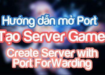 Hướng Dẫn Mở Port Mạng không cần vào Modem hay Router 1