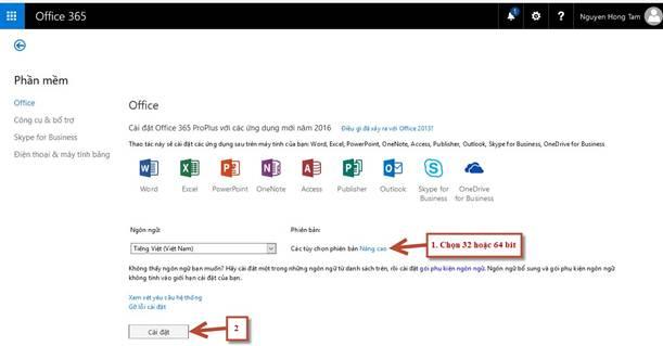 Hướng dẫn sử dụng Office 365 của Microsoft mới nhất 30