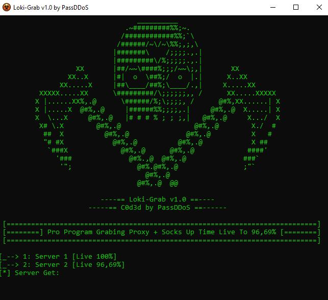 share Tool Loki Grab get proxy live