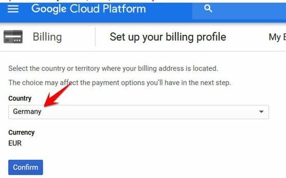 Fix lỗi không tạo được VPS trên Google Cloud bằng cách tạo Billing khác 5