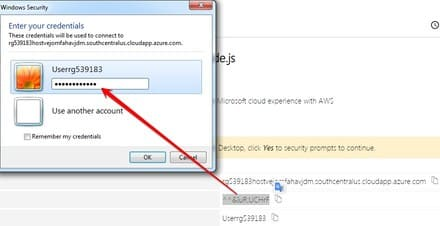 lab.rdp remote desktop VPS Windows Azure