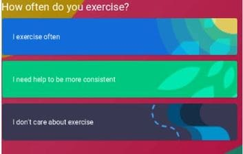 How often do you exercise