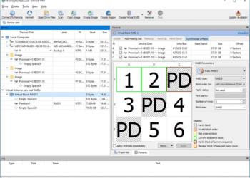 Download R-Studio 8.13 Phần mềm khôi phục dữ liệu cấp độ RAID Server 2