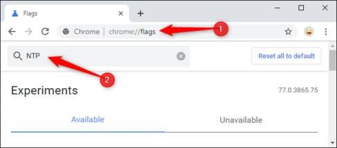 Bật công cụ tùy chỉnh giao diện cho Chrome